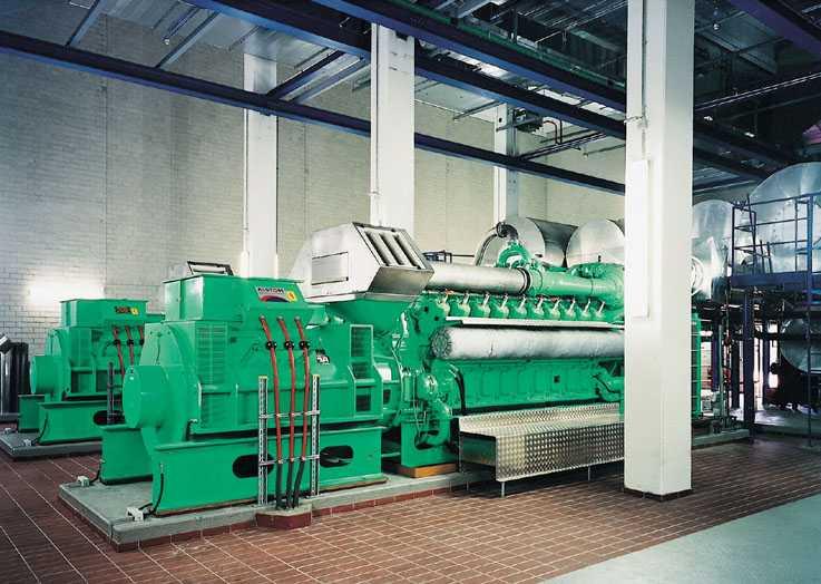 Producer gas utilization - REPOTEC